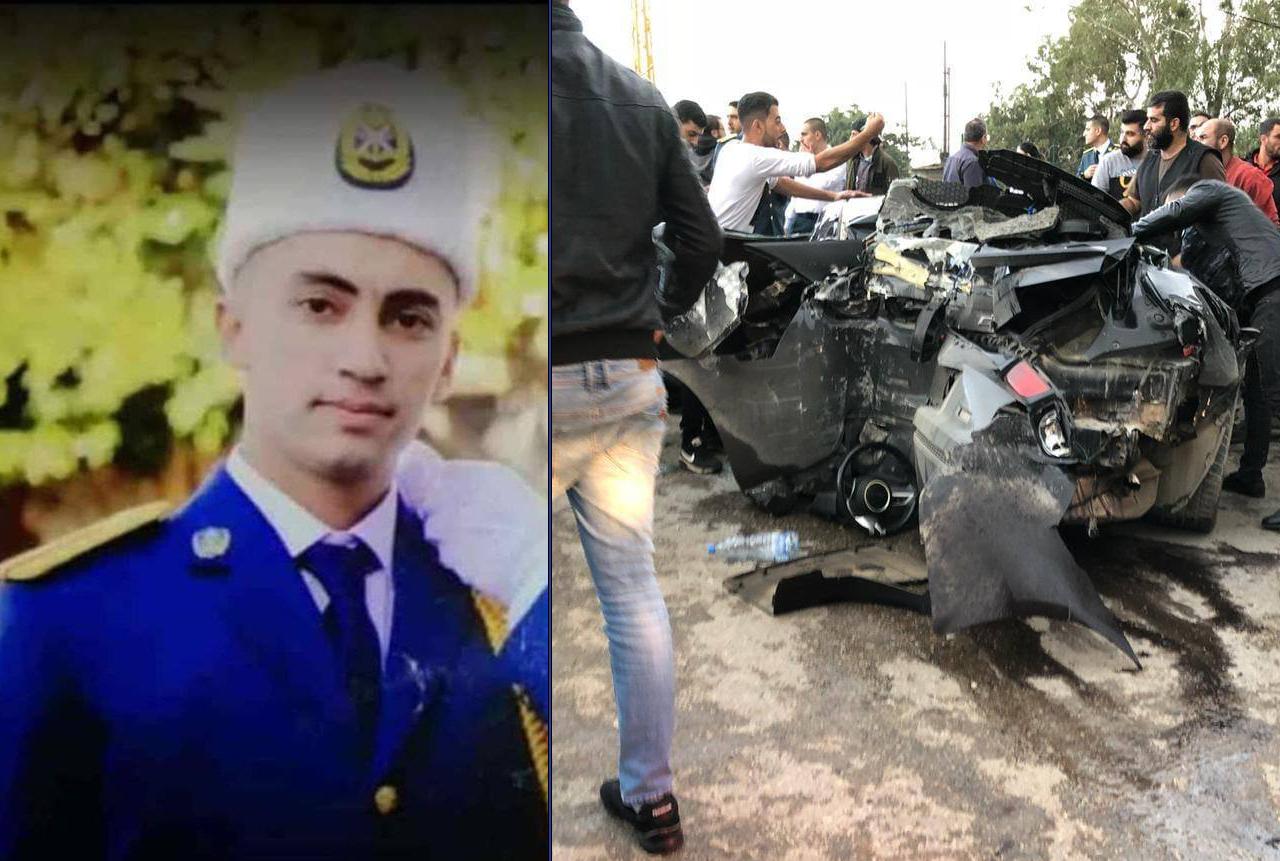 بالفيديو والصور / إصابة عدد من التلامذة الضباط في المدرسة الحربية بحادث سير كبير ومروّع في الدورة ومعلومات عن وفاة ضابط