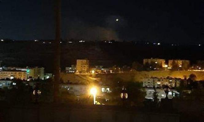 جيش الإحتلال الإسرائيلي يعلن اعتراض 4 صواريخ اطلقت من سوريا!