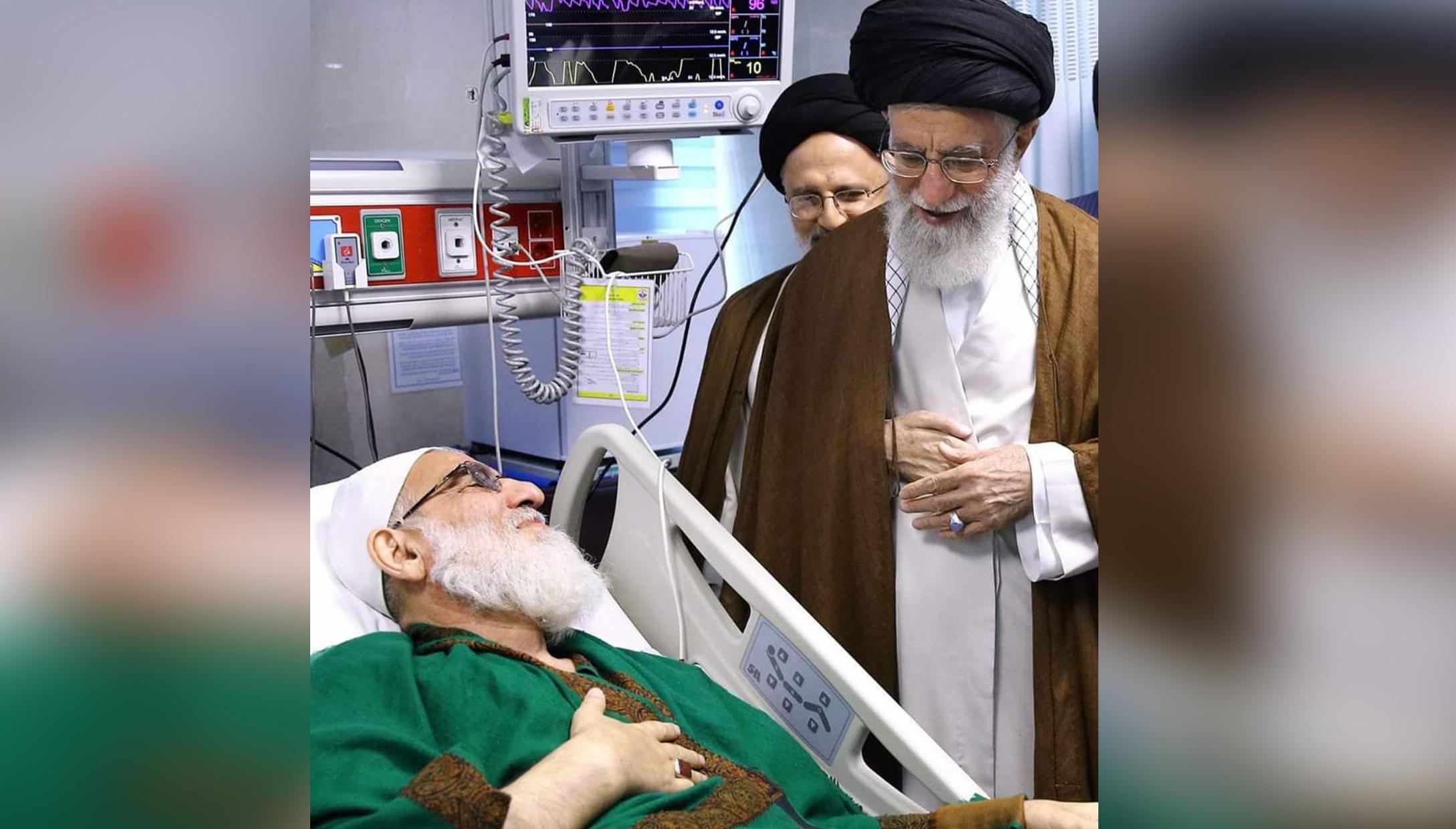 الامام الخامنئي ينعى رئيس مصلحة تشخيص النظام آية الله السيد محمود الشاهرودي