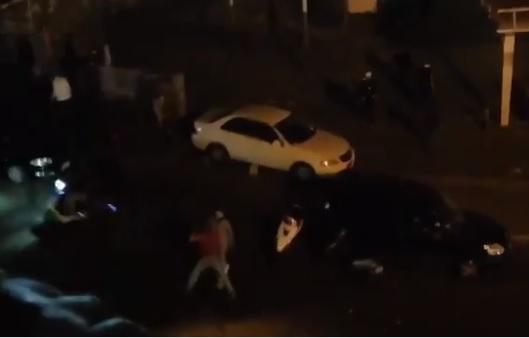 بالفيديو/  اطلاق نار عند جسر الكولا