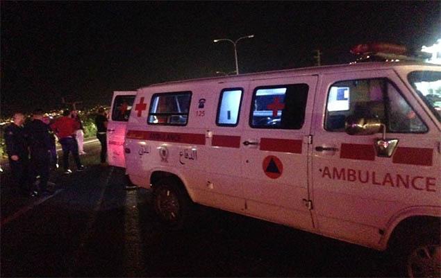 وفاة سيدة في حادث صدم وقع بمحاذاة الطريق البحري في العقيبة-كسروان