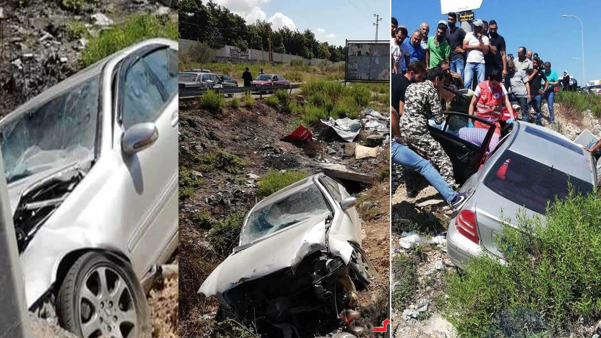 وفاة العميد جميل عقيل بحادث سير مؤسف على اوتستراد الجنوب