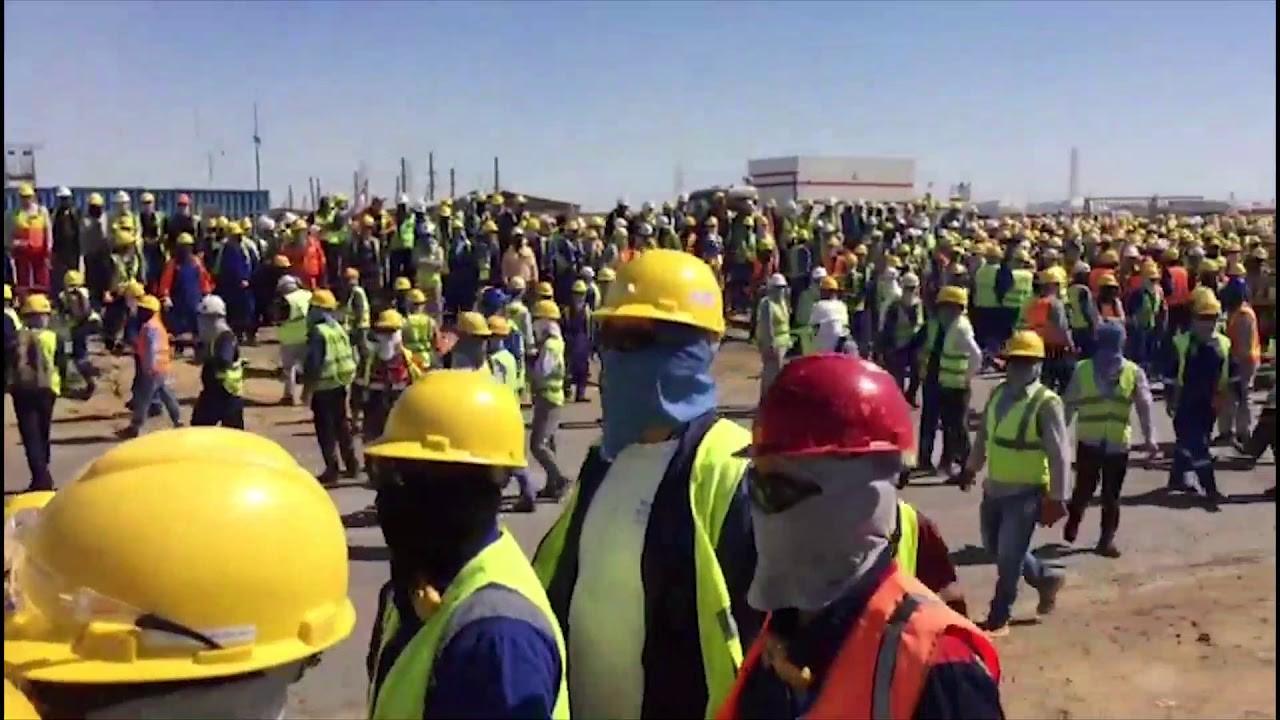 وصول دفعة جديدة من العمال اللبنانيين والفلسطينيين من كازاخستان صباحا إلى مطار بيروت
