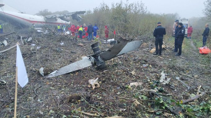 خطأ كارثي..مقتل 4 أشخاص إثر هبوط اضطراري لطائرة بعد نفاذ الوقود في أوكرانيا