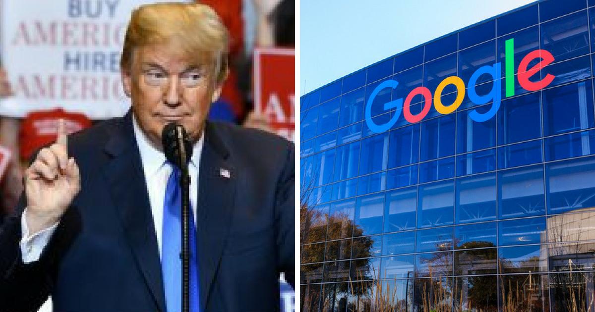 """ترامب: غوغل تستغل شعبنا...البيت الأبيض يصعد ضد محرك البحث """"غوغل"""" !"""