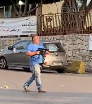بالفيديو/ بعد ان اطلق النار في جل الديب.. هذا ما حل به