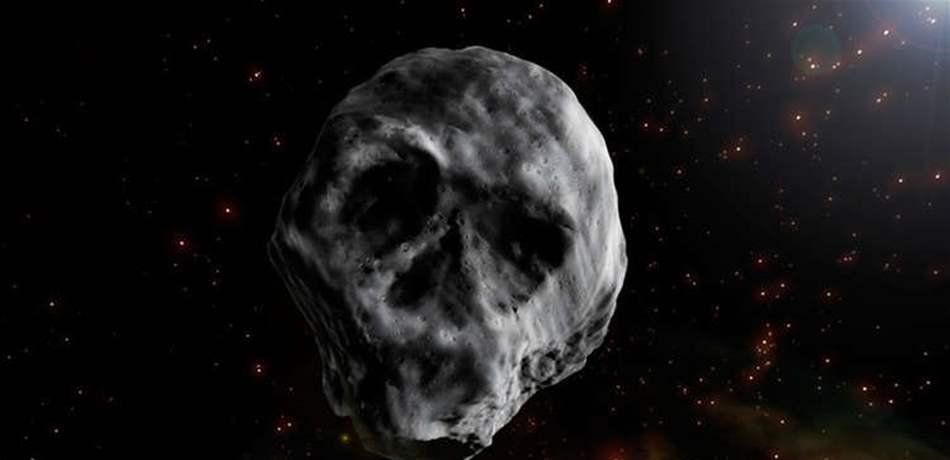 """الأرض على موعد مع """"كويكب الموت"""".. """"جمجمة الفضاء"""" ستمرّ من هنا!"""