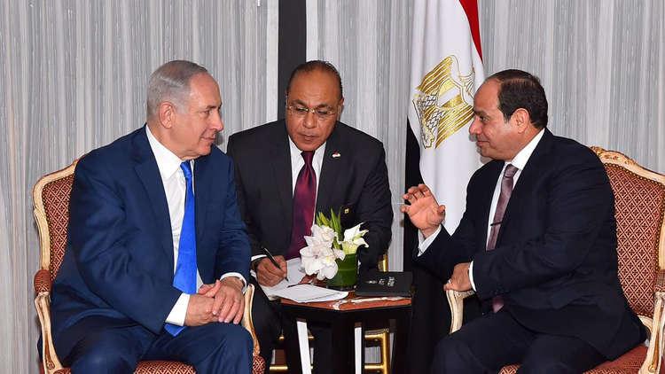 وسائل إعلام عبرية: السيسي عقد قمة سرية مع نتنياهو في مصر.. وغزة كانت محور اللقاء